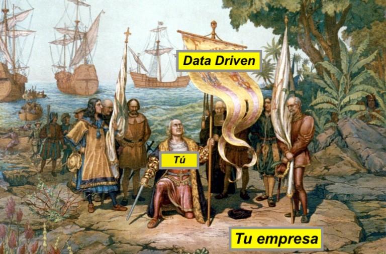 evangelización data driven company